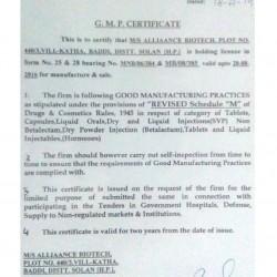 AlliaanceBiotech | Pharmaceuticals Manufacturer in Baddi India